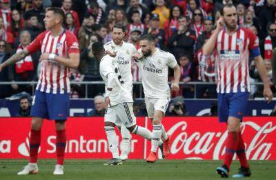 Gol-gol Terbaik El Real di Derbi Madrid