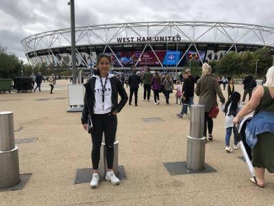 Shalika Aurelia Jalani 8 Sesi Latihan untuk Tembus Akademi West Ham United