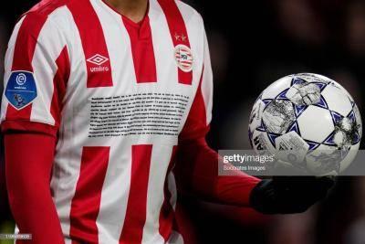 Cerita di Balik 11 Baris Sponsor Jersi PSV