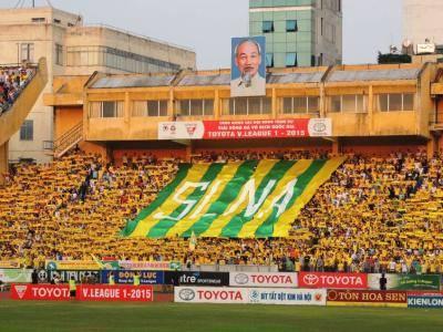 Kegilaan Suporter Song Lam Nghe An FC Saat Tandang