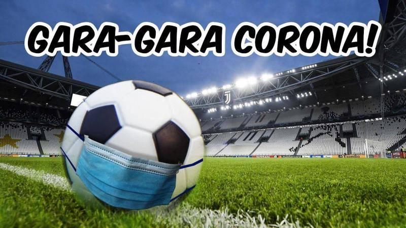 corona menggerogoti sepakbola