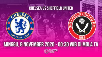 5 Fakta Menarik Jelang Laga Chelsea vs Sheffield United