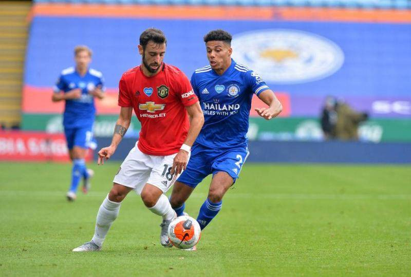 Leicester City vs Manchester United 2019/20 - 1