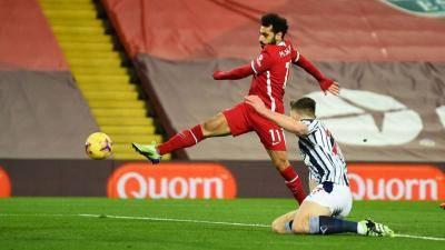Liverpool vs West Brom Imbang, Mo Salah Cetak Rekor Buruk