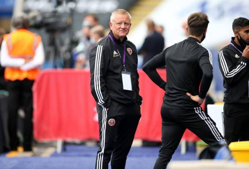 Chris Wilder manager of Sheffield United arrives before the Premier League match between Leicester City and Sheffield United at The King Power Stadium on July 16, 2020 in Leicester, United Kingdom.