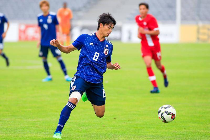 Kaoru Mitoma of Japan during the U20 International Festival 2018 match between Japan and Canada on June 3, 2018 in Istres, France
