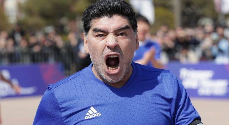 دیگو مارادونا سرمربی الفجیره شد