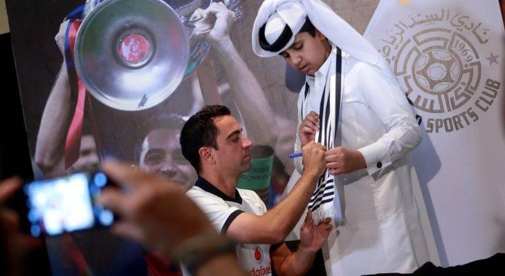 ژاوی، نامزد بازیکن سال قطر