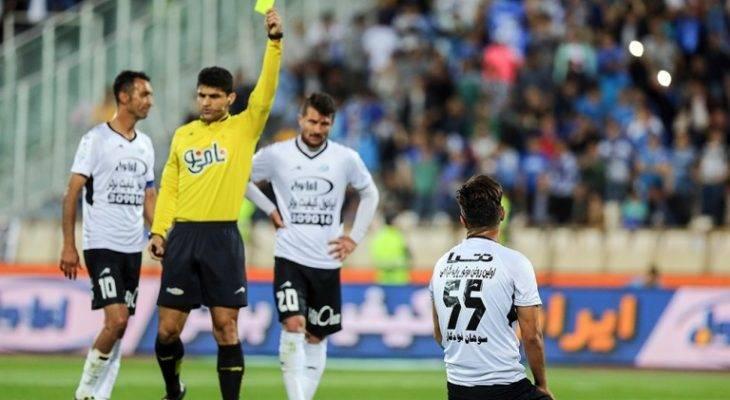 تغییر قانون محرومیت در لیگ برتر؛  هر چهار کارت زرد، یک بازی