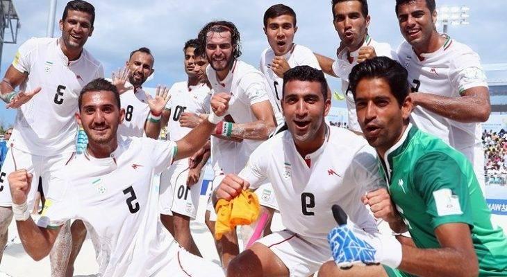 صعود تاریخی تیم ملی فوتبال ساحلی به رتبه سوم رنکینگ جهانی