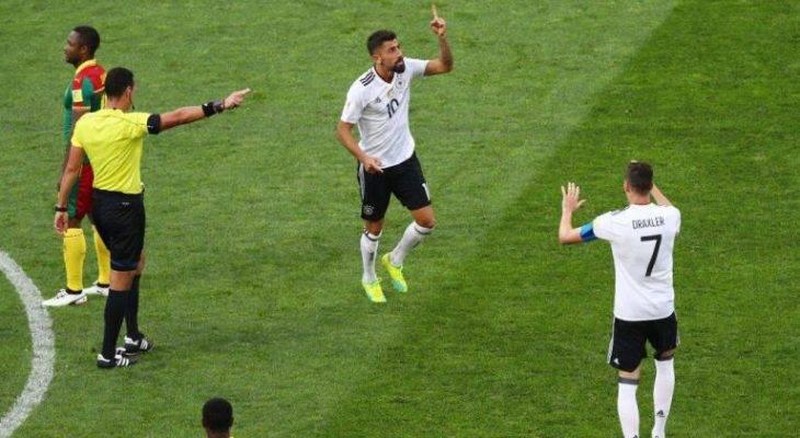 آلمان حریف مکزیک در نیمه نهایی جام کنفدراسیون ها