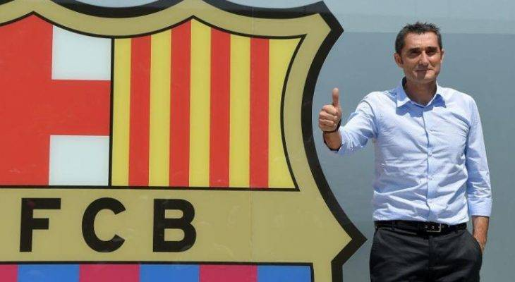 رسمی: ارنستو والورده با بارسلونا تمدید کرد