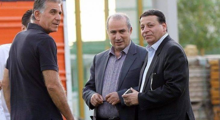 قدرتنمایی کی روش؛ اسدی رفت، ساکت دبیر کل فدراسیون فوتبال