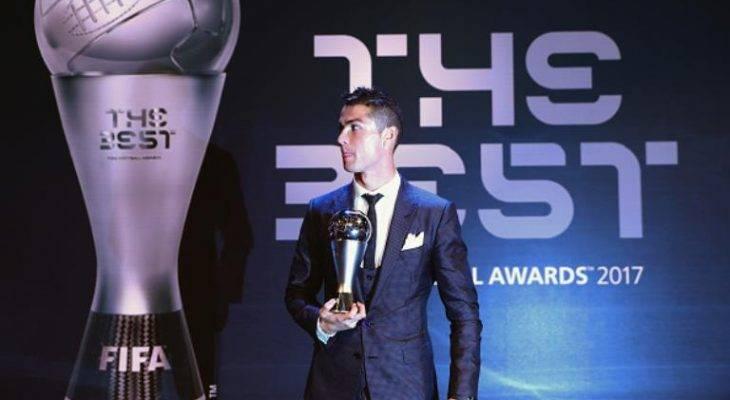 کریس رونالدو بهترین بازیکن سال 2017 فیفا شد