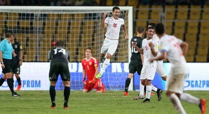 پیروزی پرگل تیم ملی نوجوانان ایران مقابل آلمان در جام جهانی