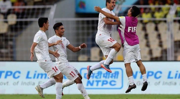 صعود مقتدرانه نوجوانان ایران به یک هشتم نهایی جام جهانی