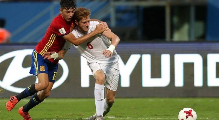 نوجوانان اسپانیا 3-1 نوجوانان ایران؛ پایان حماسه