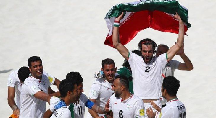 عنوان سومی جام بین قاره ای برای تیم ملی فوتبال ساحلی