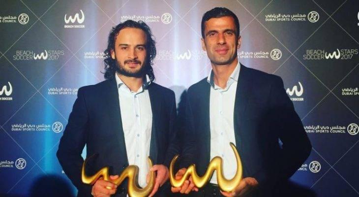 جایزه بهترین گل و بهترین دروازه بان فوتبال ساحلی دنیا برای حسینی