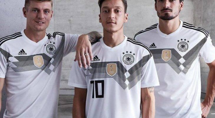 رونمایی از پیراهن های تیم های جام جهانی 2018