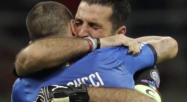 خداحافظی بوفون از بازی های ملی با چشمانی اشکبار