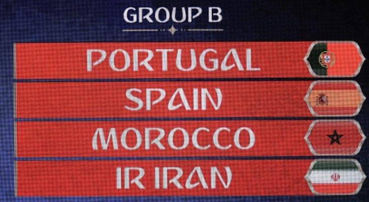برنامه کامل دیدارهای تیم ملی ایران در جام جهانی 2018