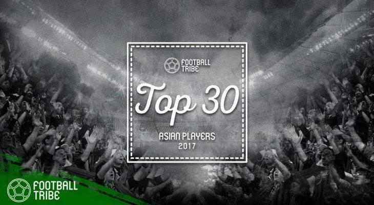 جوایز فوتبال ترایب: بهترین های فوتبال آسیا-نفرات بیست و یکم تا سی ام