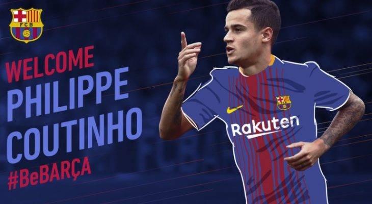 رسمی: فیلیپ کوتینیو از لیورپول به بارسلونا پیوست