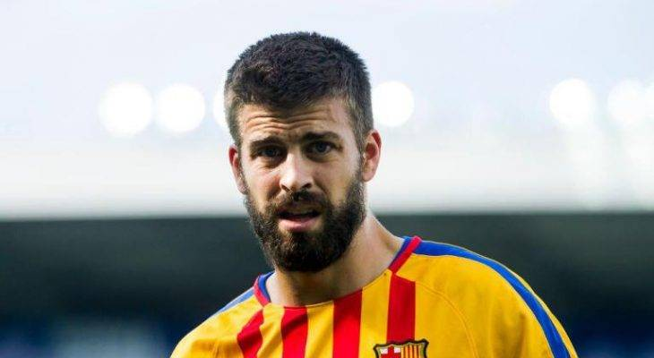 رسمی: جرارد پیکه تا 2022 با بارسلونا تمدید کرد