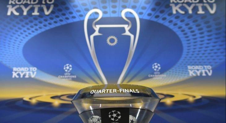 قرعه کشی مرحله یک چهارم نهایی لیگ قهرمانان 2018