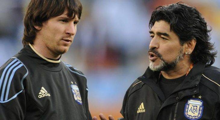 باتیستوتا: مسی هرگز به سطح مارادونا نمی رسد