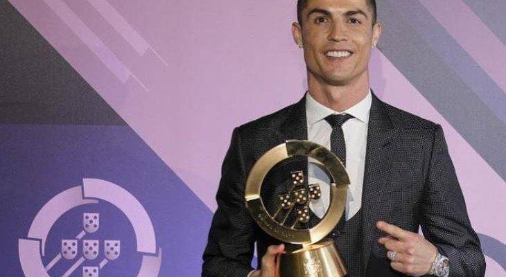 کریس رونالدو مرد سال 2017 فوتبال پرتغال شد