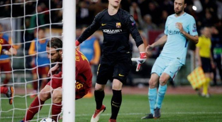 وقتی قره باغ هم با شکست بارسلونا شوخی کرد
