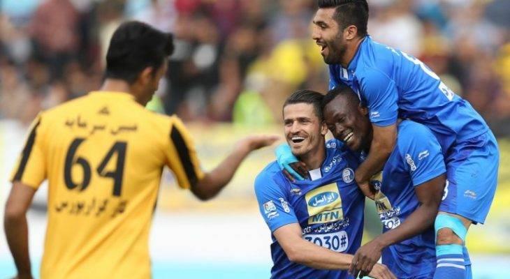 سپاهان 0-1 استقلال: نایب قهرمانی از دست رفت