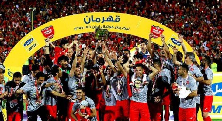 مرور قهرمانی های پرسپولیس در لیگ برتر