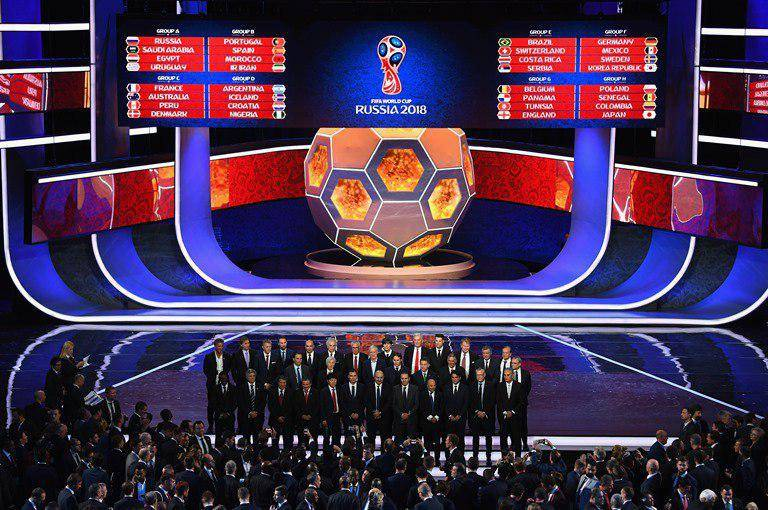 بررسی گروه بندی جام جهانی 2018 روسیه