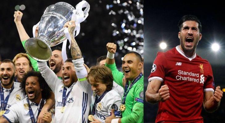 آمار ستاره های لیورپول برابر رئال مادرید؛ یک به هفده