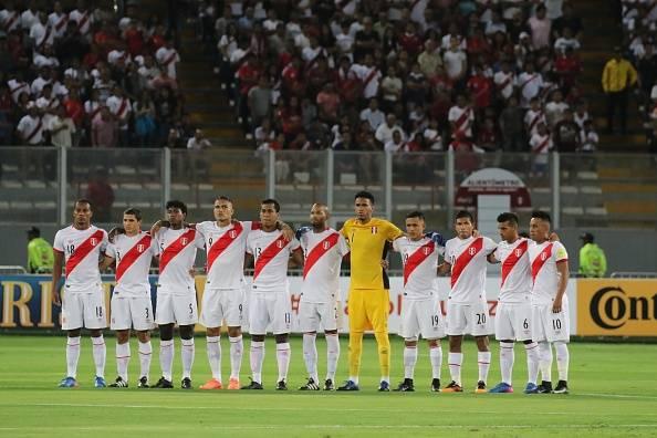 معرفی ها تیم های حاضر در جام جهانی 2018؛ پرو