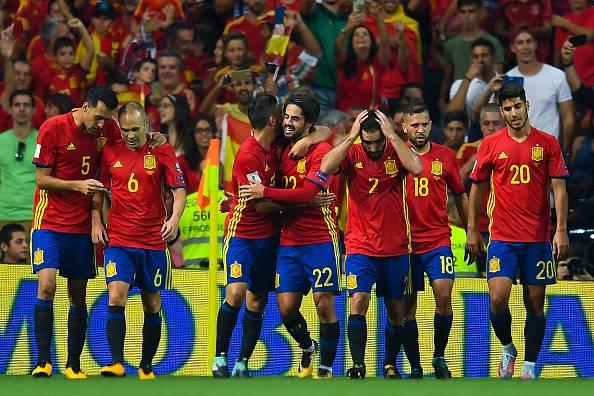 لیست تیم ملی اسپانیا برای جام جهانی 2018 اعلام شد