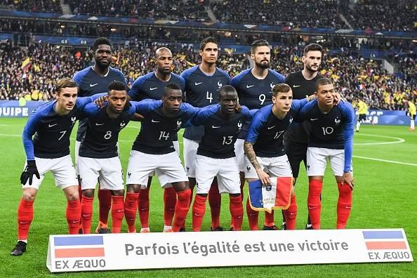 معرفی ها تیم های حاضر در جام جهانی 2018؛ فرانسه