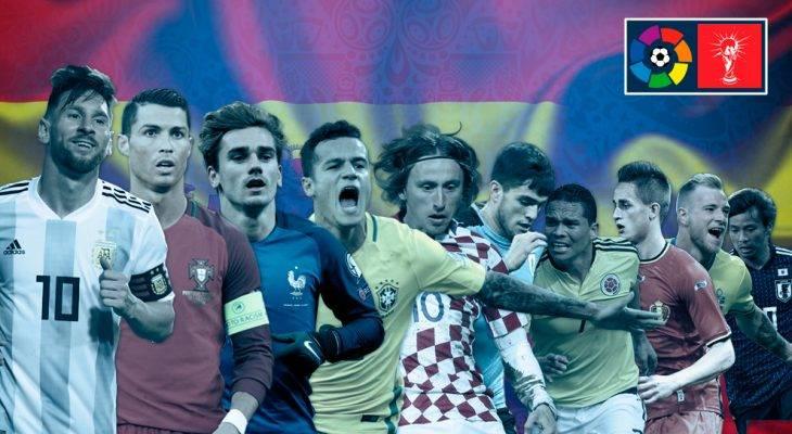 سلطه بی حرف و حدیث لالیگا بر جام جهانی روسیه