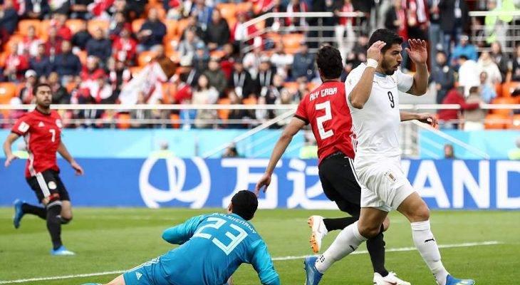 اروگوئه 1 – 0 مصر؛ شکست در روز غیبت صلاح