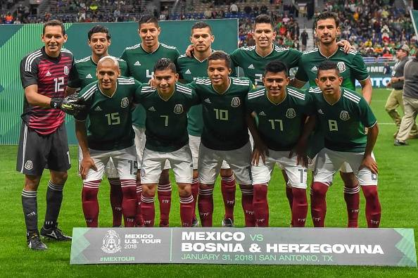 معرفی تیم های جام جهانی 2018؛ مکزیک