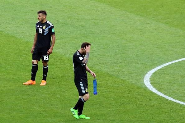 لیونل مسی: من مقصر تساوی آرژانتین برابر ایسلند هستم