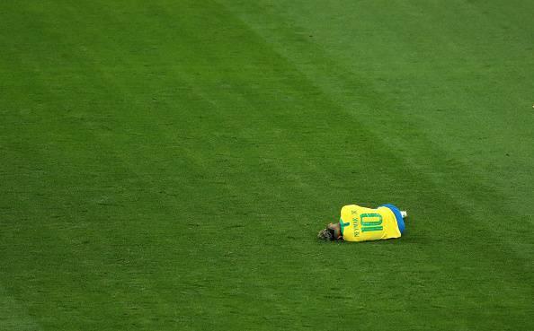 نیمار؛ سلاخی در اولین بازی رسمی بعد از بازگشت