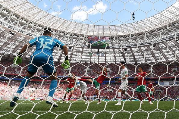 پرتغال 1 – 0 مراکش؛ پیشروی با جادوی رونالدو