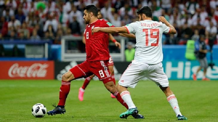 5  لحظه سرنوشت ساز دیدار ایران مقابل اسپانیا در جام جهانی روسیه 2018