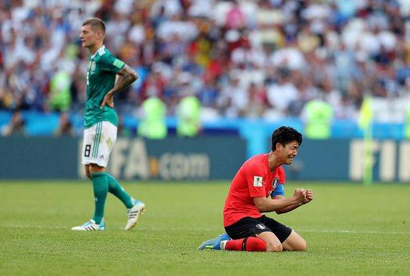 آلمان 0 – 2 کره جنوبی؛ حذف ناباورانه مانشافت در جام جهانی 2018