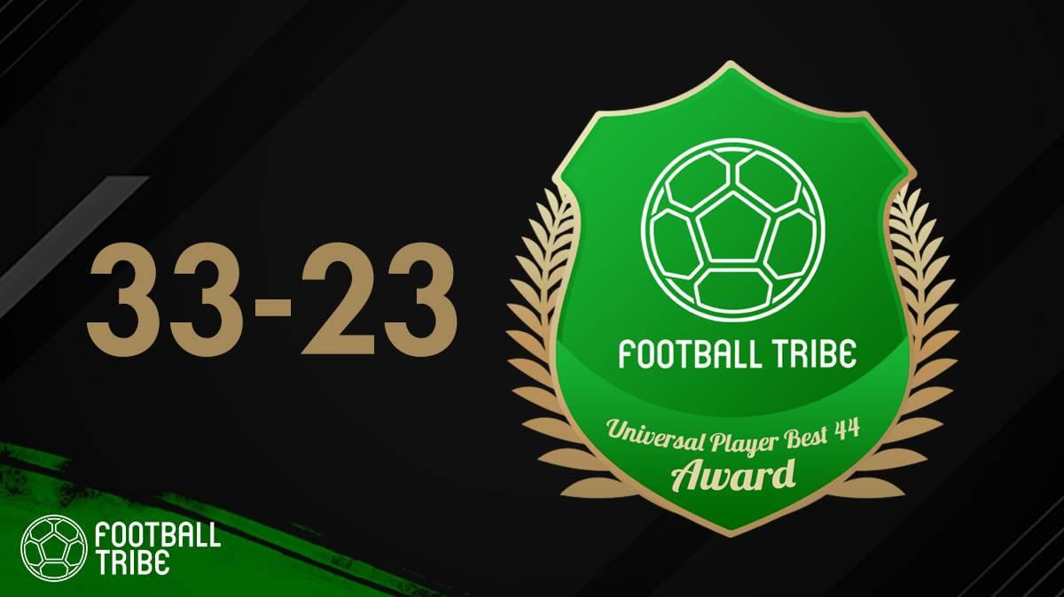 نتیجه نهایی رای گیری فوتبال ترایب 44؛ نفرات سی و سه تا بیست و سه