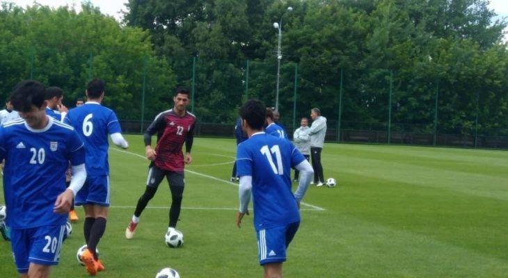 تصاویر اختصاصی فوتبال ترایب؛ تمرینات تیم ملی ایران در مسکو